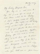 Image of 14.11.01, Letter by Warren Lee Spitler