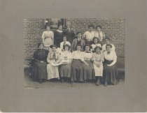 Image of Reuel B. Pritchett Museum Collection - Daleville College Group, Possibly the Glee Club, pre 1918