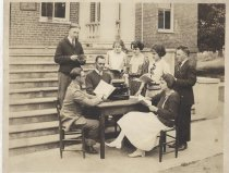 Image of Reuel B. Pritchett Museum Collection - Student Group at Daleville College, circa 1921-1923