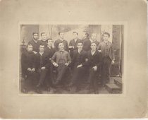 Image of Reuel B. Pritchett Museum Collection - Bridgewater College men, circa 1889