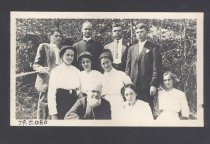 Image of Reuel B. Pritchett Museum Collection - Bridgewater College (Bridgewater, Va.) Hiking Group, Early 1900s