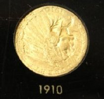 Image of Coin, 91.4.001. 1910