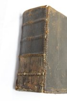 Image of 1911.1.001, Book, Mack Bible- Spine