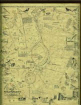 Image of Harry M. Strickler illustrated map of Rosemary Mont (Page County, Va.), 1940 - 14.0.109