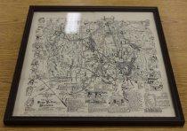 Image of Harry M. Strickler illustrated map of Rockingham County (Va.), 1930 - 14.0.110