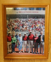 Image of Alexander Mack Memorial Library Special Collections - Bridgewater College Jopson Field press box donors, 2007