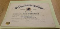 Image of Eunice Annalee Dasher Bridgewater College diploma, 1915 - 16.01.005