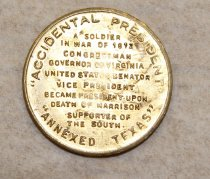 Image of 54.1.1163, Token, Commemorative, Reverse