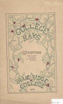 Image of College Rays, December 1916 - 86.7.001