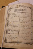 Image of 17.13.002, Book, Marriages List