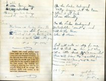 Image of Notebook page from Pfc. Andrew McCaskey, stationed in England, Series 5