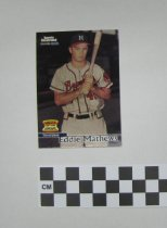 Image of Card, Baseball - 2014.010.002