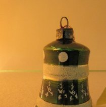 Image of Green Bell Christmas Ornament