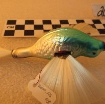 Image of Bird with Nylon Wings Christmas Ornamen