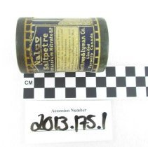 Image of 2013.175.1 Container, Medicine