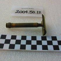 Image of Razor, Safety - 2004.50.12