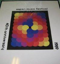 Image of Aspen Music Festival poster