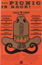 Image of Deaf Camp Picnic Poster 1997