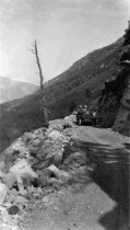 Image of Car on Independence Pass, 1915-