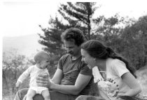 Image of Meridth, Gordy and Elli Hayes Ford, 1980-