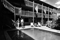 Image of Snowflake Inn Pool, 1986