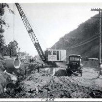 Image of F-0255 - Laurel Canyon Storm Drain Construction