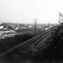 Image of F-0487 - East bank of Los Angeles River