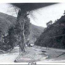 Image of F-0503 - Easterly and Westerly Roadways of Laurel Canyon Road