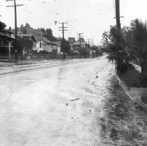 Image of F-0522 - Echo Park Avenue and Stream of Water
