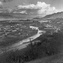 Image of B190Strm08-098 - Los Angeles River Flooding San Fernando Valley