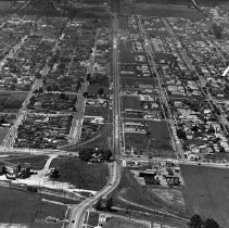 Image of C0029-A104 - Aerial photograph of Sepulveda Bouelvard