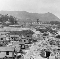 Image of F-0966 - View of Griffith Park from Glendale-Hyperion Viaduct