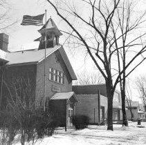 Image of Bingham Street School, February 1956