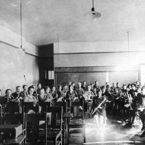 Image of Central High School Band Practice, 1925