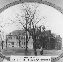 Image of Clark Street School, March 1894
