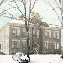 Image of Larch Street School, circa 1940