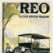 Image of REO 3/4 Ton Speed Wagon Catalog, circa 1915, Coll. No. 357