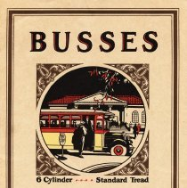 Image of REO Busses, 6 Cylinder Catalog, 1926, Coll. No. 457