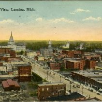 Image of Bird's-eye View, Lansing, Michigan - 2015-01-001.V01.051a