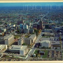 Image of Lansing, Michigan, Aerial View - 2015-01-001.V01.068a