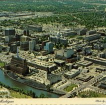 Image of Lansing, Michigan, Aerial View - 2015-01-001.V01.070