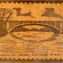 Image of Washington Avenue Bridge, Lansing, Michigan - 2015-01-001.V01.086