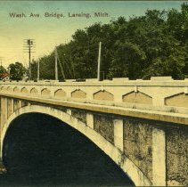 Image of Washington Avenue Bridge, Lansing, Michigan - 2015-01-001.V01.087