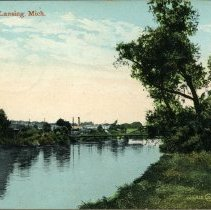 Image of Grand River, Lansing, Michigan - 2015-01-001.V02.018a