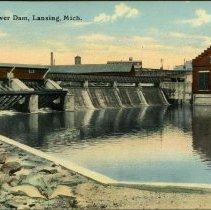Image of Michigan Power Dam, Lansing, Michigan - 2015-01-001.V02.032a