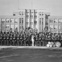 Image of Sexton High School Marching Band, 1951
