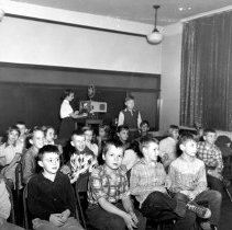 """Image of Walnut Street School Fourth and Fifth Grade """"Movie"""" Time"""