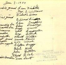 Image of Names of Men in Lansing I. O. O. F. Group Portrait