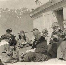 Image of Women Knitting - 2010-06-001.008.066