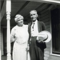 Image of Wilton S. Mead with an Older Woman